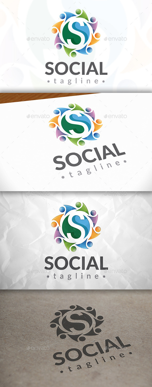 GraphicRiver Social United Logo 8922949