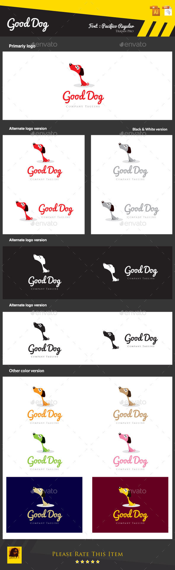 GraphicRiver Good Dog 8922996