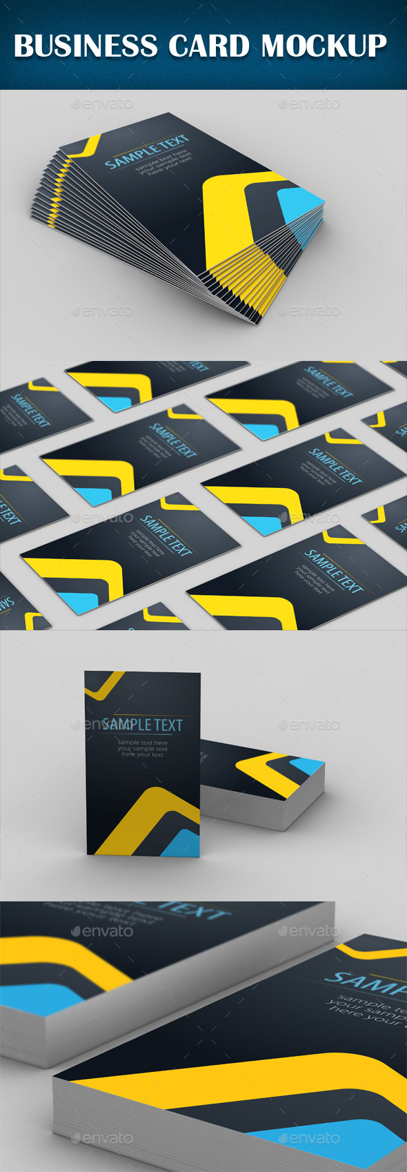 GraphicRiver Business Card Mockup 8923366