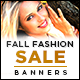Fall Sale Marketing Banner Design - GraphicRiver Item for Sale