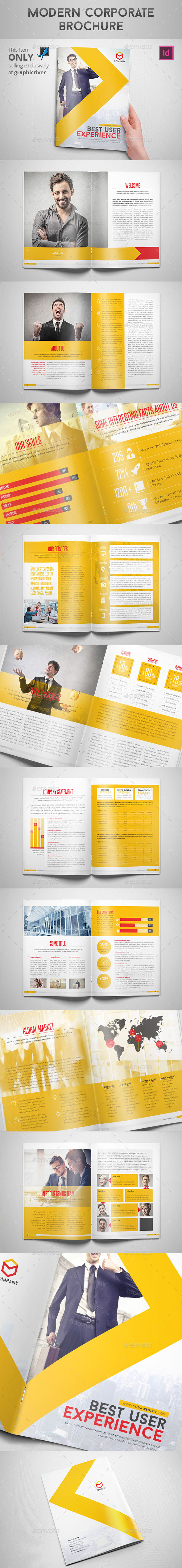 GraphicRiver Modern Corporate Brochure 8923626