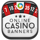 Casino Web Banner Design - GraphicRiver Item for Sale
