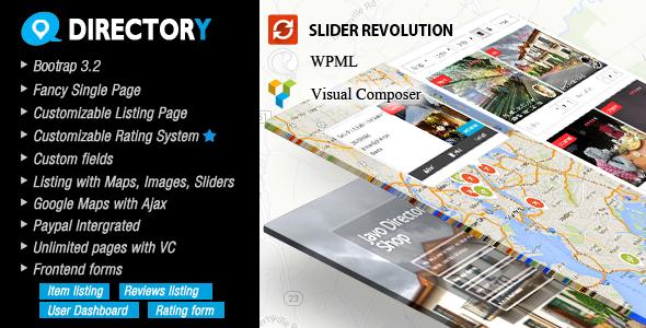 Javo Directory Wordpress Theme - Directory & Listings Corporate