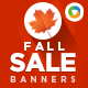 Fall Sale Web Banner Design - GraphicRiver Item for Sale