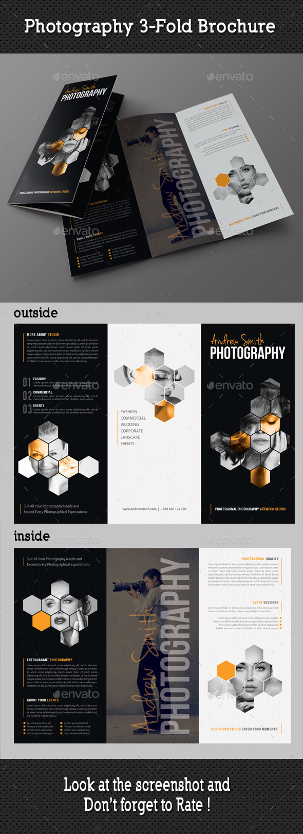 GraphicRiver Photography Studio 3-Fold Brochure 8923856