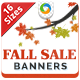 Fall Sale Banner Design - GraphicRiver Item for Sale