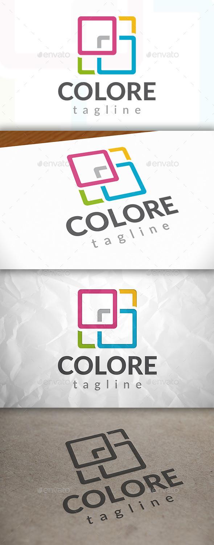 GraphicRiver Color Square Logo 8924031