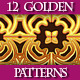 Set of Luxury Golden Patterns for Design - GraphicRiver Item for Sale