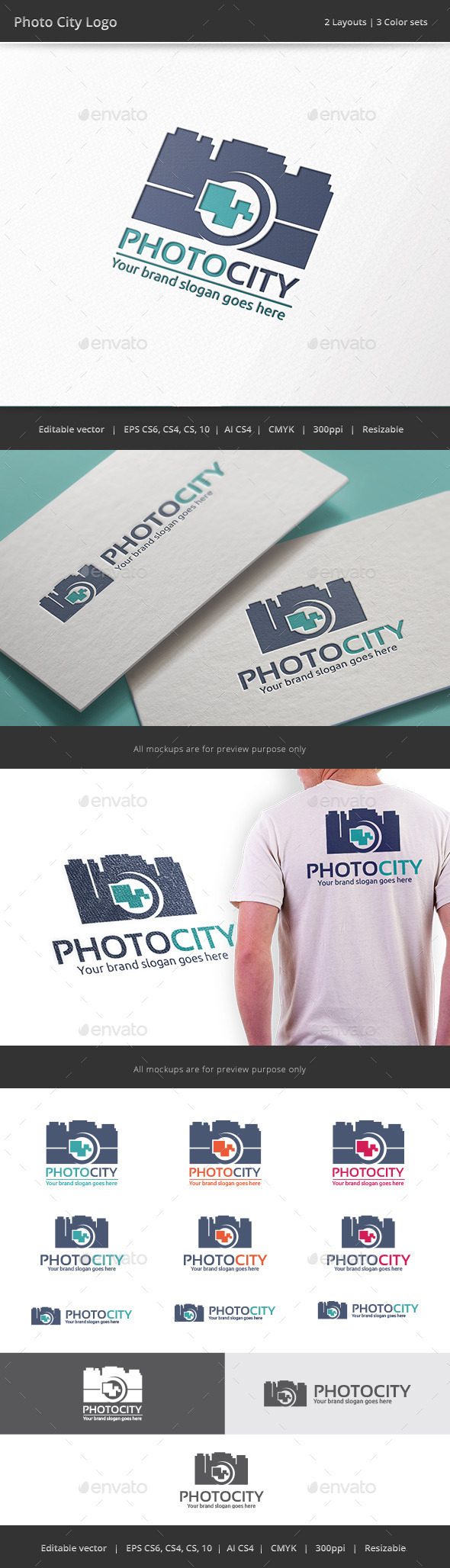 GraphicRiver Photo City Camera Logo 8924443