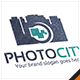 Photo City Camera Logo - GraphicRiver Item for Sale