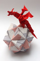 Origami dragon on paper ball - PhotoDune Item for Sale