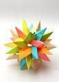 Colorful Modular origami star - PhotoDune Item for Sale
