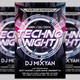 Techno Night #2 Flyer