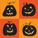 Set of Halloween Pumpkins - GraphicRiver Item for Sale