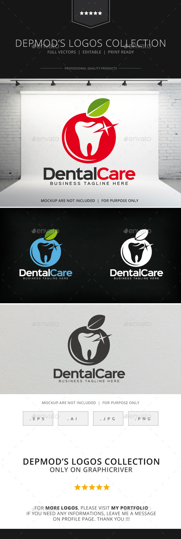 GraphicRiver Dental Care V.02 Logo 8924827
