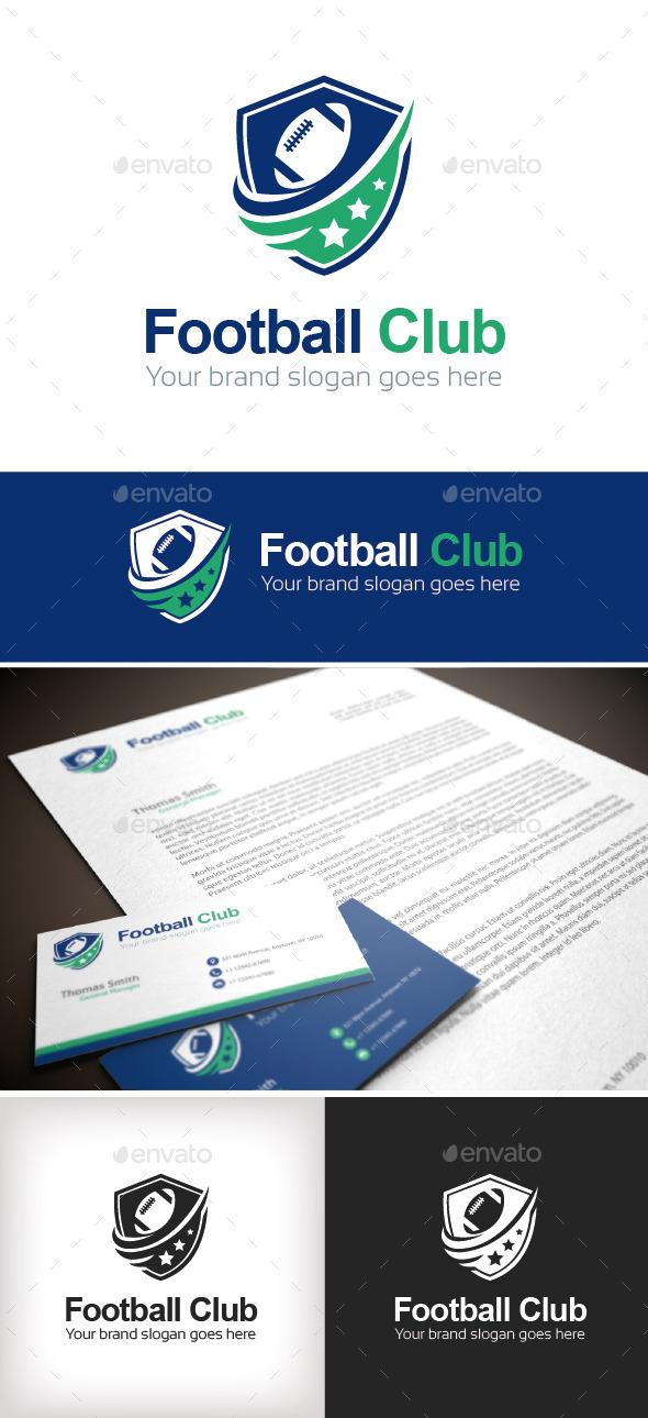 GraphicRiver Football Club Logo Template 8924836