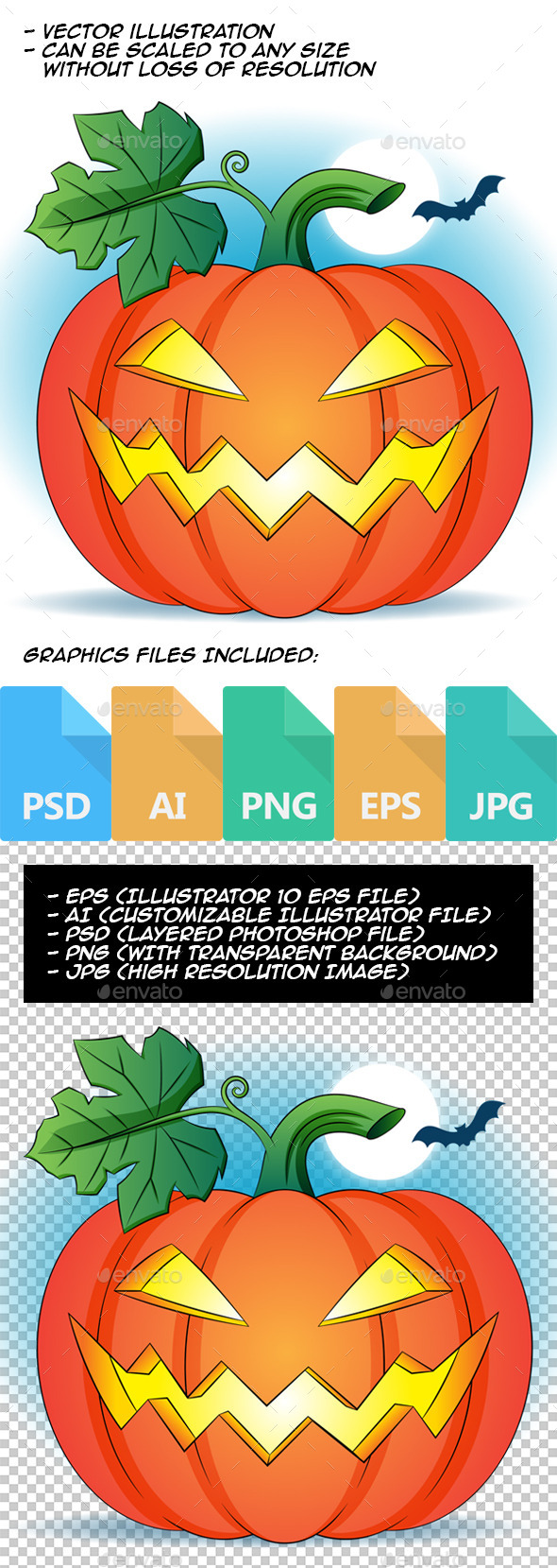 GraphicRiver Pumpkin Head 8925003