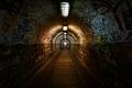 Dark undergorund passage with light - PhotoDune Item for Sale