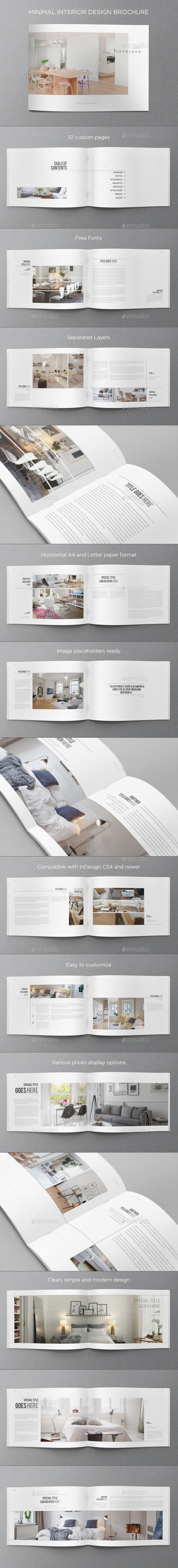 GraphicRiver Minimal Interior Design Brochure 8925678