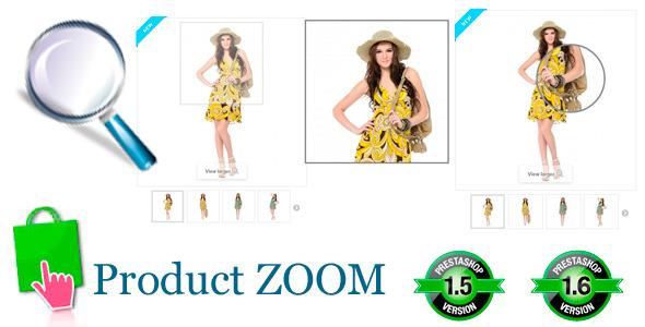 CodeCanyon Prestashop Product ZOOM 8925790