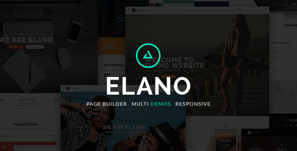 ThemeForest Elano Multi-Purpose One Page Wordpress Theme 8773615