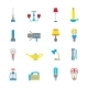 Flashlight and Lamps Icons - GraphicRiver Item for Sale