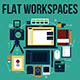 Photographer Flat Workplaces. - GraphicRiver Item for Sale