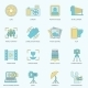 Photography Icons Flat Line - GraphicRiver Item for Sale