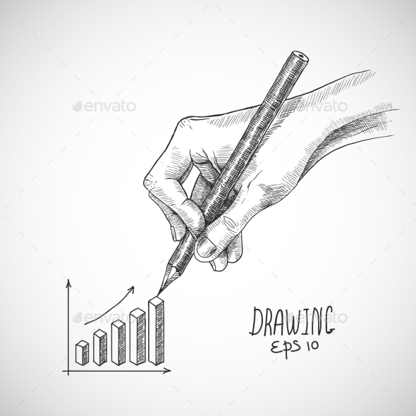 GraphicRiver Hand Drawing Graph 8925834