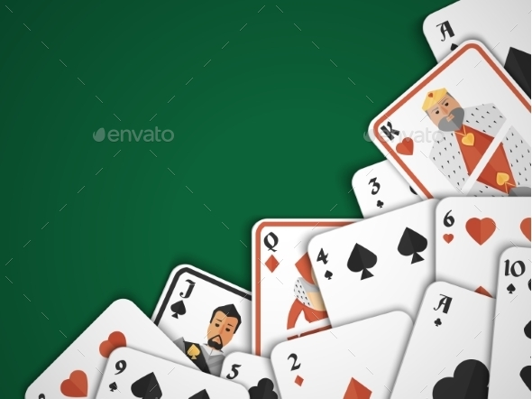 GraphicRiver Playing Cards Background 8925977