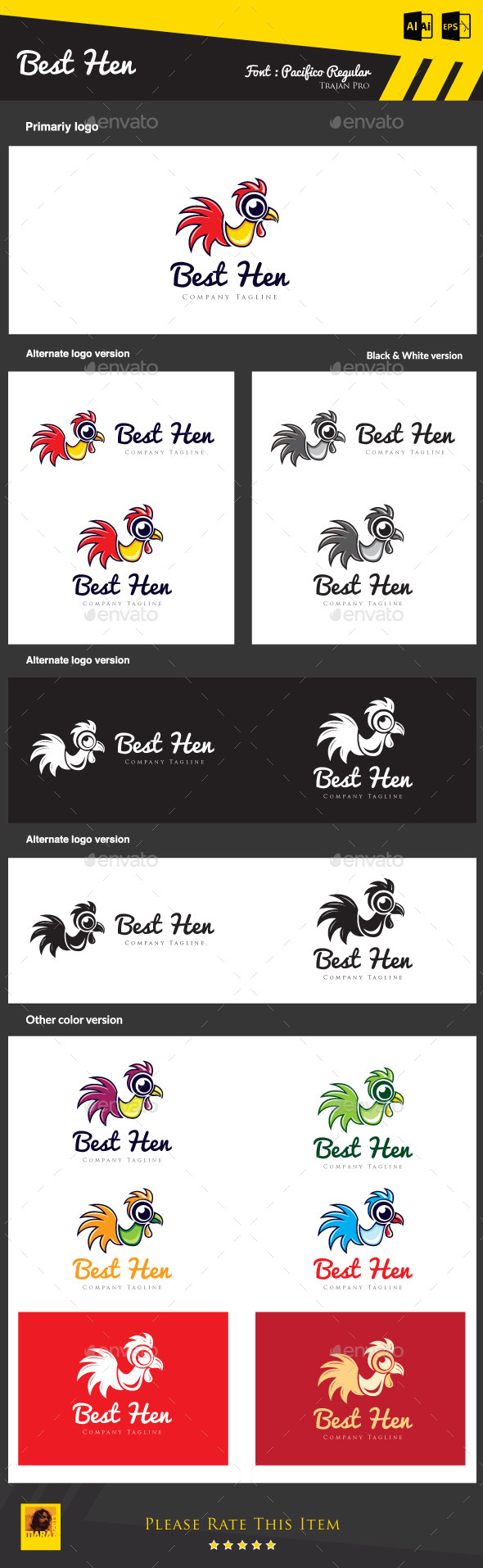 GraphicRiver Best Hen 8913560