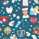Hospital Seamless Pattern - GraphicRiver Item for Sale