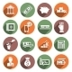 Bank Service Icons - GraphicRiver Item for Sale