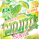 Flyer Mojito Bash Konnekt - GraphicRiver Item for Sale