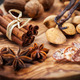 Christmas spices and baking ingredients - PhotoDune Item for Sale