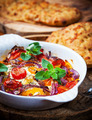 Baked feta cheese with vegetables - PhotoDune Item for Sale