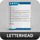 Corporate Letterhead vol 6 - GraphicRiver Item for Sale