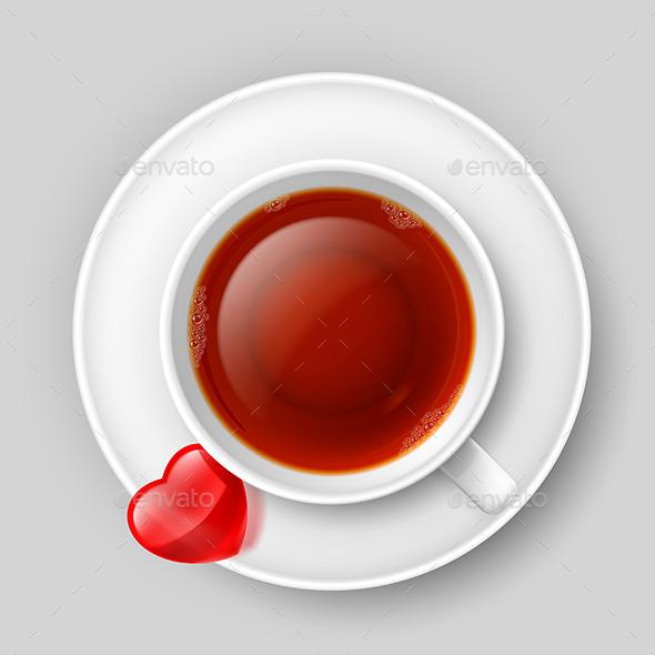 GraphicRiver Romantic Tea Drinking 8926542