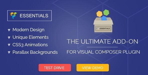 CodeCanyon Essentials Visual Composer Addon 8926554