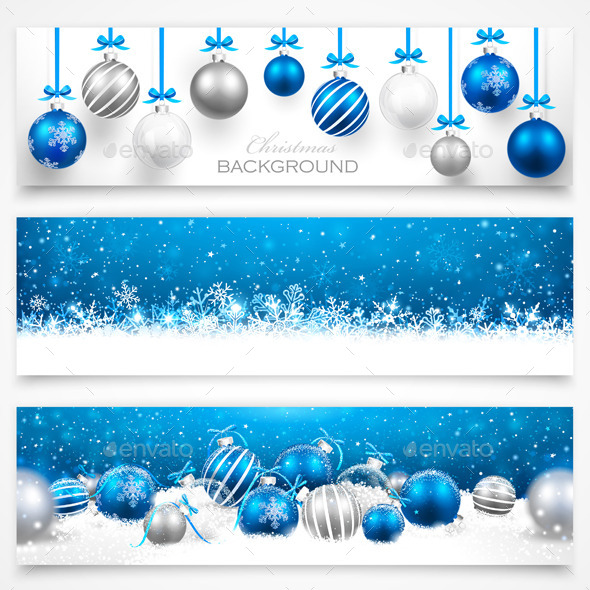 GraphicRiver Collection of Christmas Banners 8926630
