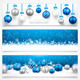 Collection of Christmas Banners - GraphicRiver Item for Sale