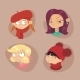Illustrations of Girls  - GraphicRiver Item for Sale