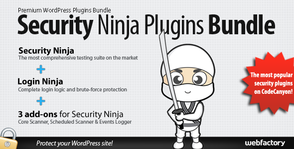 CodeCanyon Security Ninja Plugins Bundle 8926745