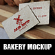 Bakery Mockup - GraphicRiver Item for Sale