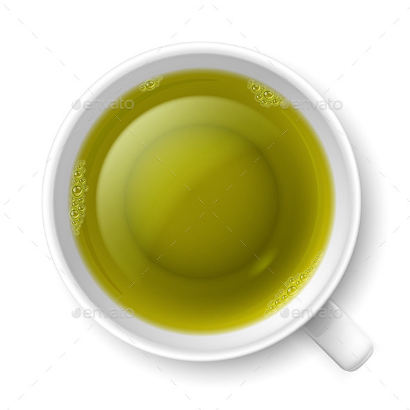 GraphicRiver Cup of Green Tea 8926959