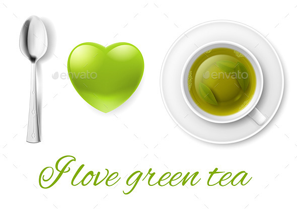 GraphicRiver I Love Tea 8926962