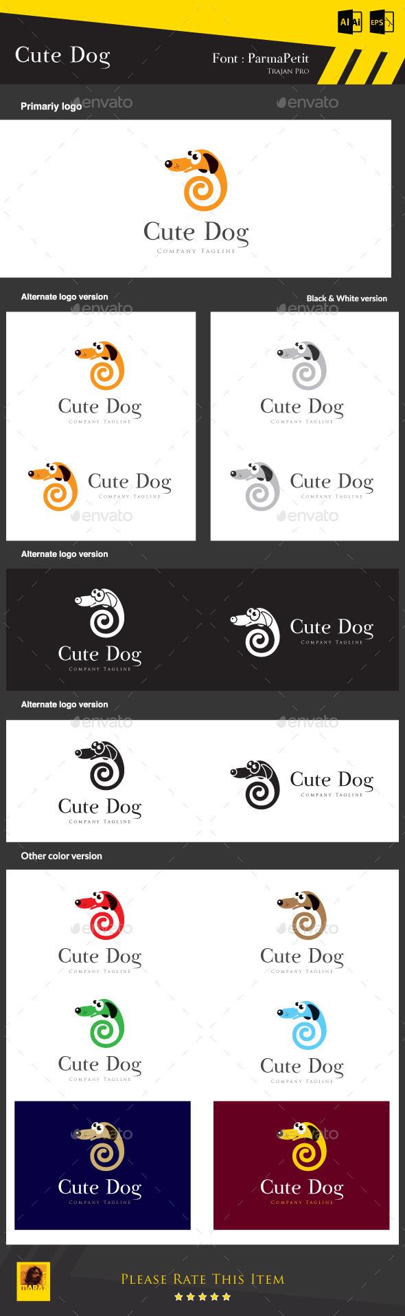 GraphicRiver Cute Dog 8927095