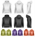 Set of different colored male hoodies - PhotoDune Item for Sale