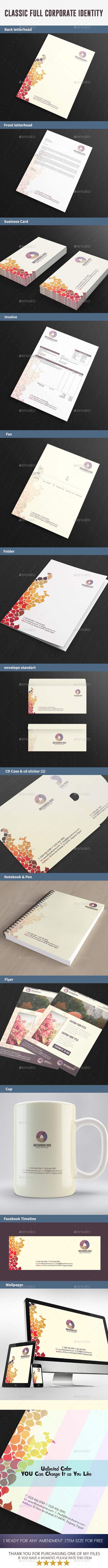 GraphicRiver Classic Full Corporate Identity 8927185