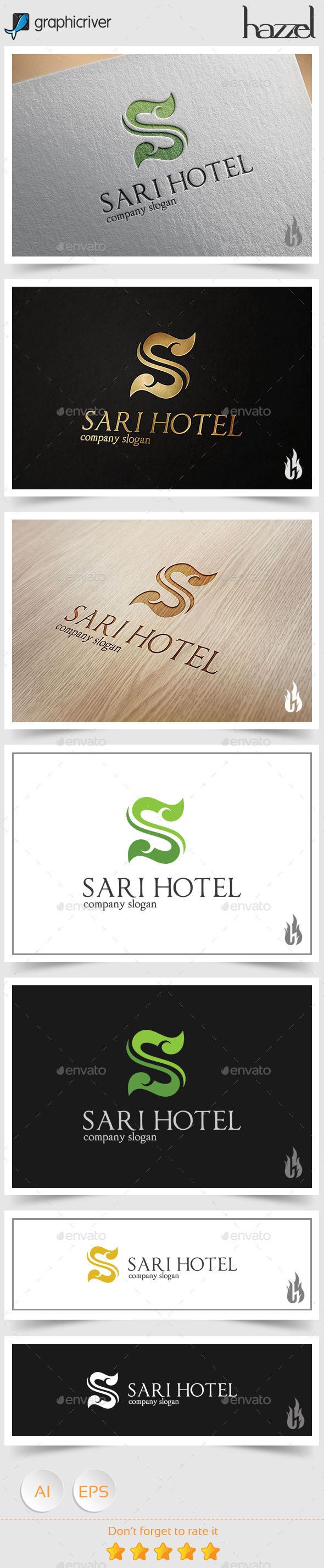 GraphicRiver Sari Hotel Logo 8927270